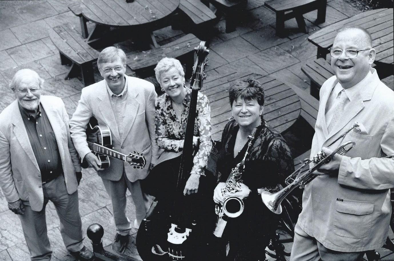 Chris Hodgkins Quartet with Eddie Harvey
