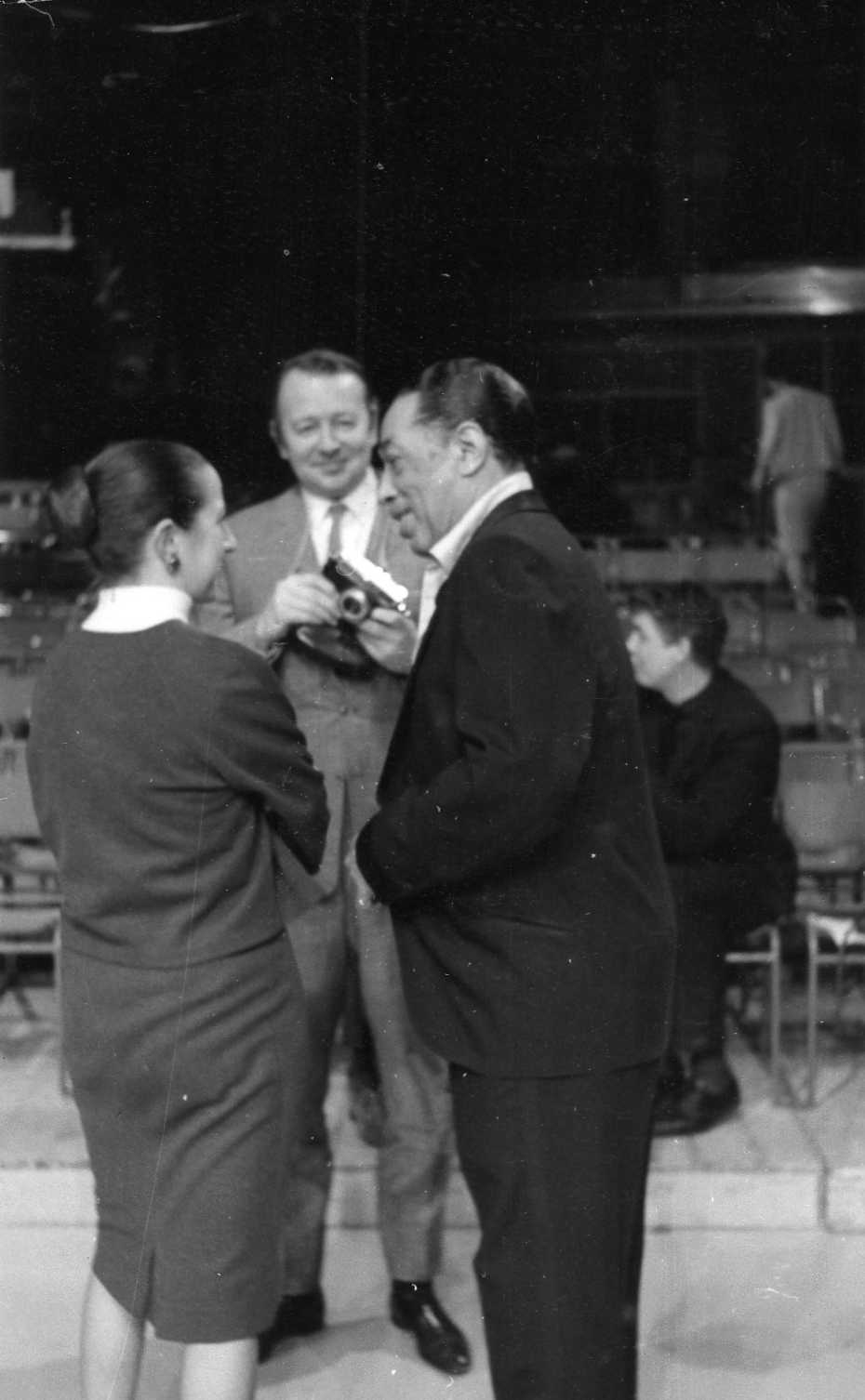 Humph, Susan da Costa and Duke Ellington 1964 Feb
