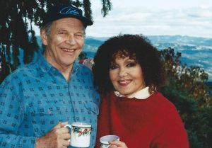 John Dankworth and Cleo Laine at Sonoma, California 11th November 1998. Photo credit: Stuart Dankworth