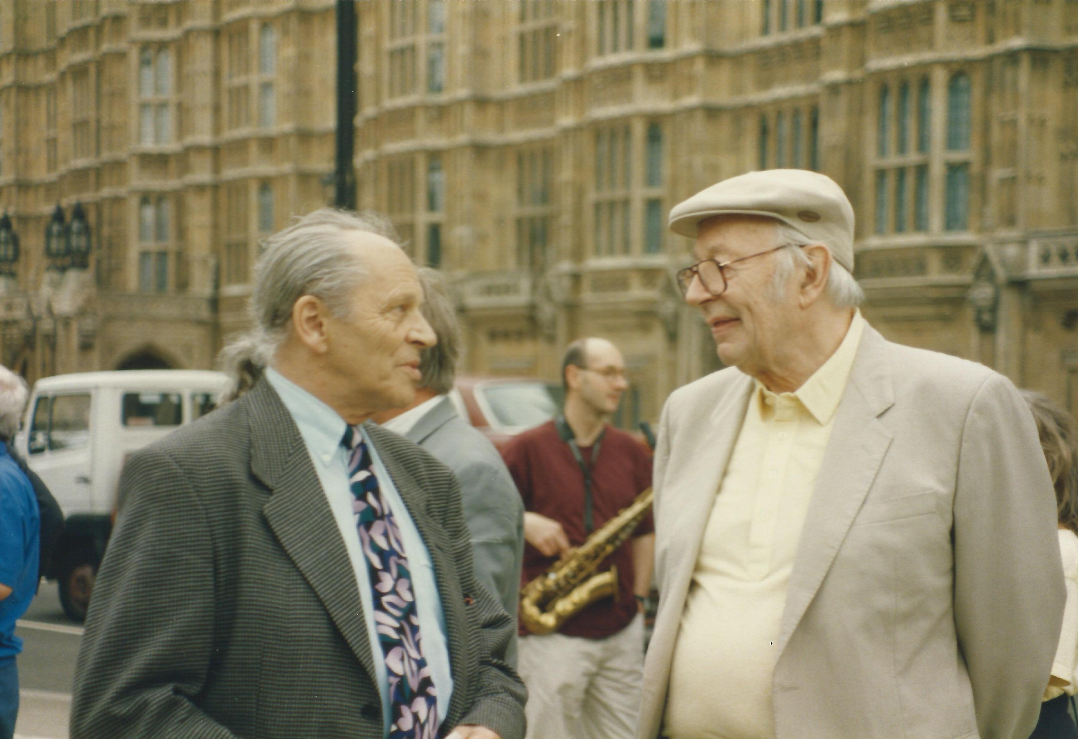 John Dankworth, and Humphrey Lyttelton