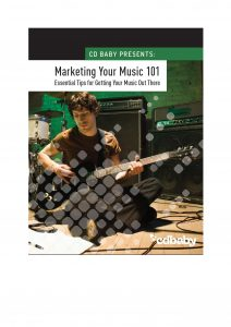 Marketing Your Music 101 Front cover