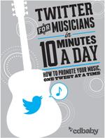 Twitter For Musicians Front cover