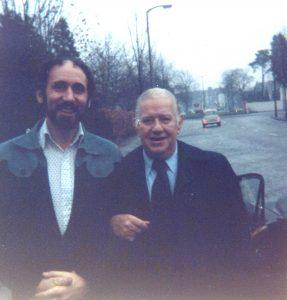 Wild Bill Davison and Bob Tunnicliffe Cardiff September 1976