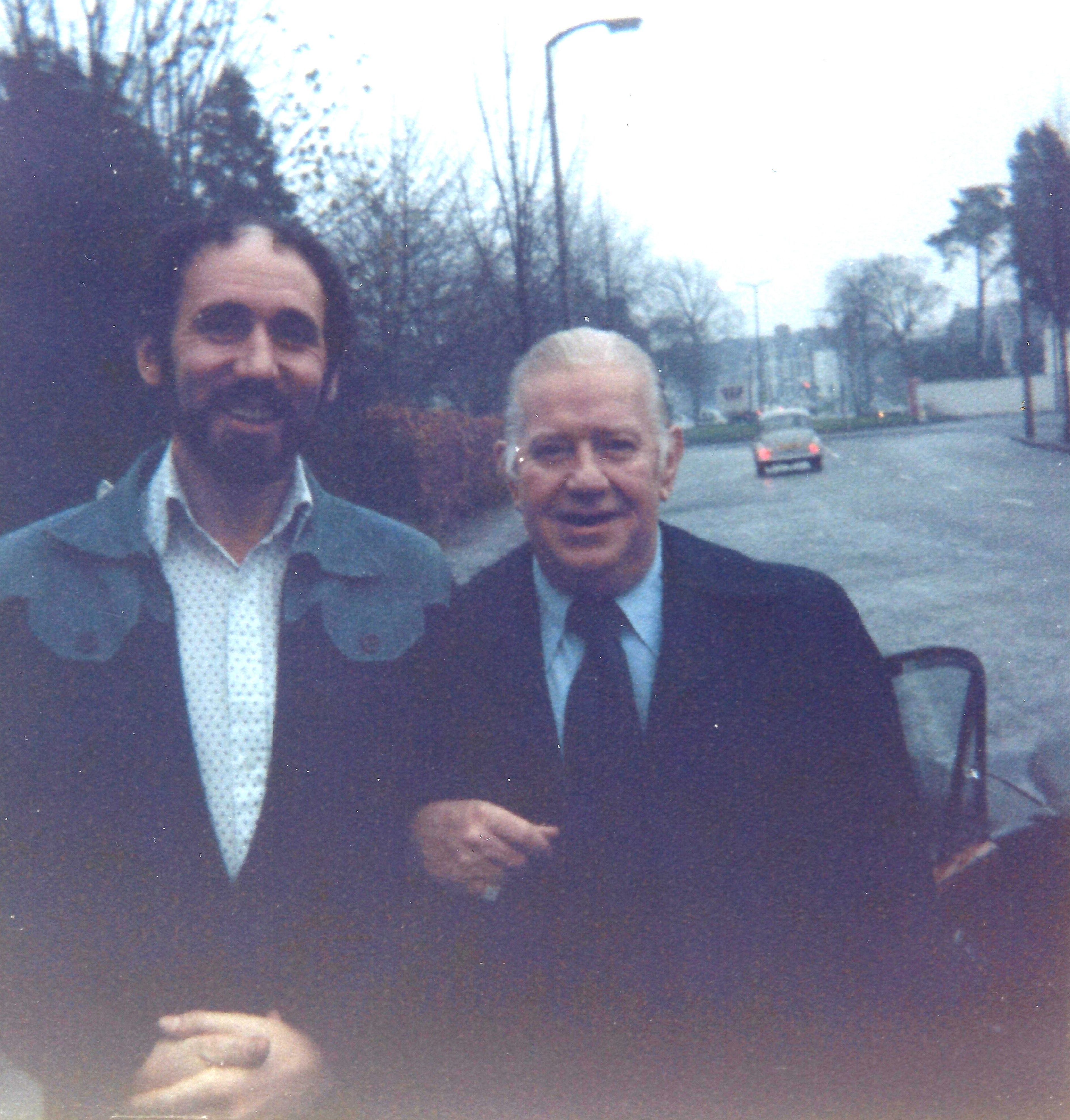 Bob Tunnicliffe and Wild Bill Davison and 15th September 1976