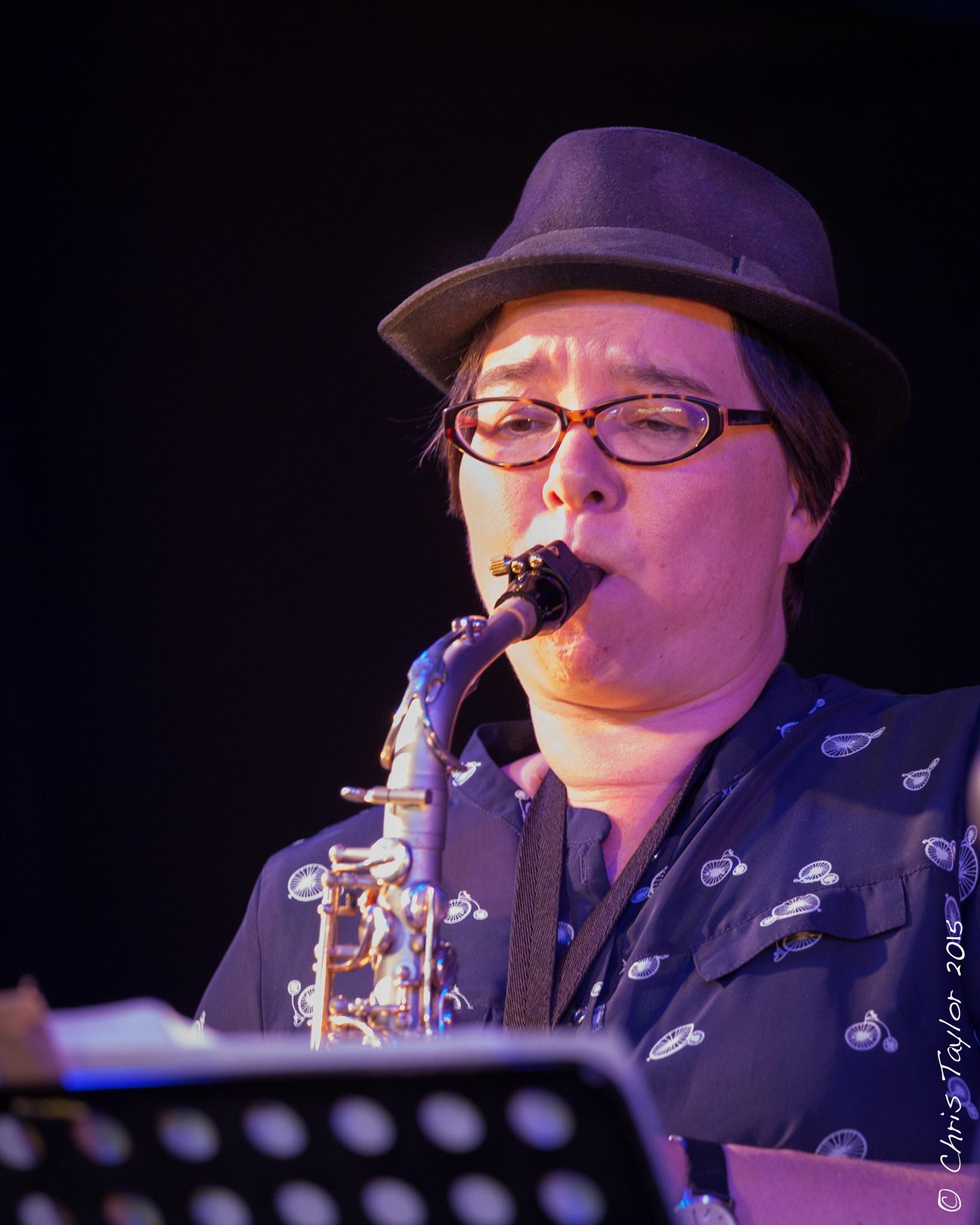 Charlotte Glasson Ealing Jazz Festival 1st August 2015