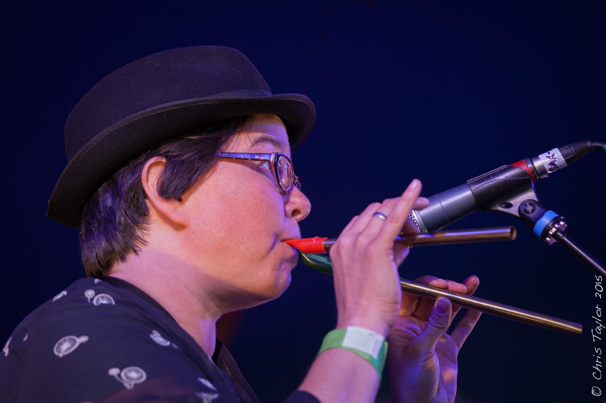 Charlotte Glasson Ealing Jazz Festival 2015