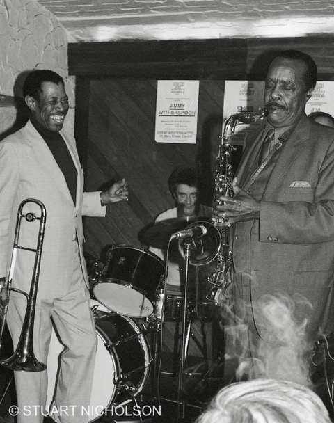 Buddy Tate, Al Grey and Terry Hawkes Great Western Hotel Cardiff