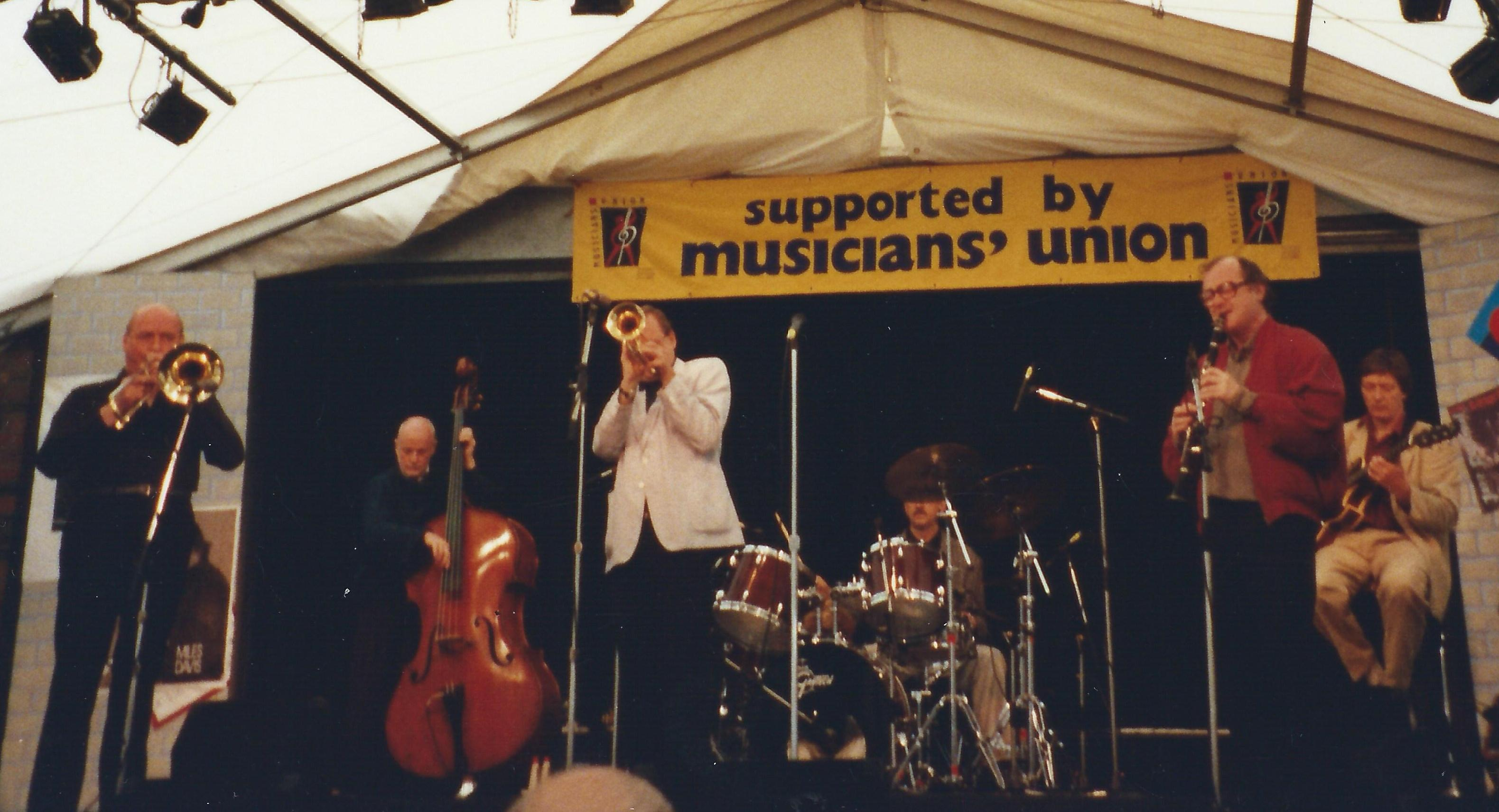 John Evans and Harlem Airshaft Ealing Jazz Festival 13th August 1992
