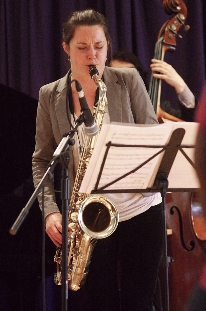Trish Clowes at Watermill Jazz Club 2014