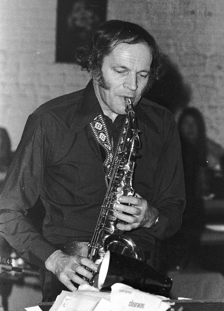 John Dankworth at Ronnie Scott's 1973