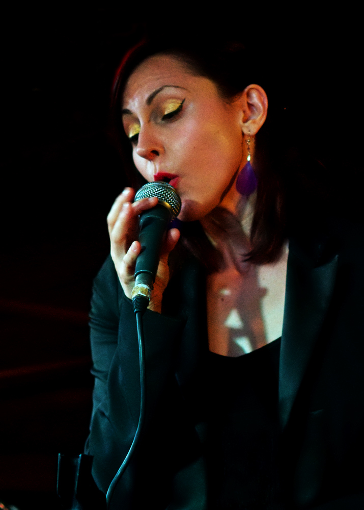 Georgia Mancio at Pizza Express 2011
