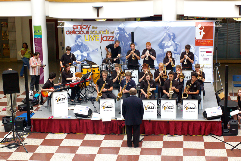 Surrey County Youth Jazz Orchestra Whitgift Centre 2007