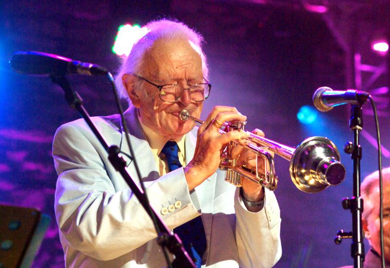 Humphrey Lyttelton Brecon Jazz Festival 2007