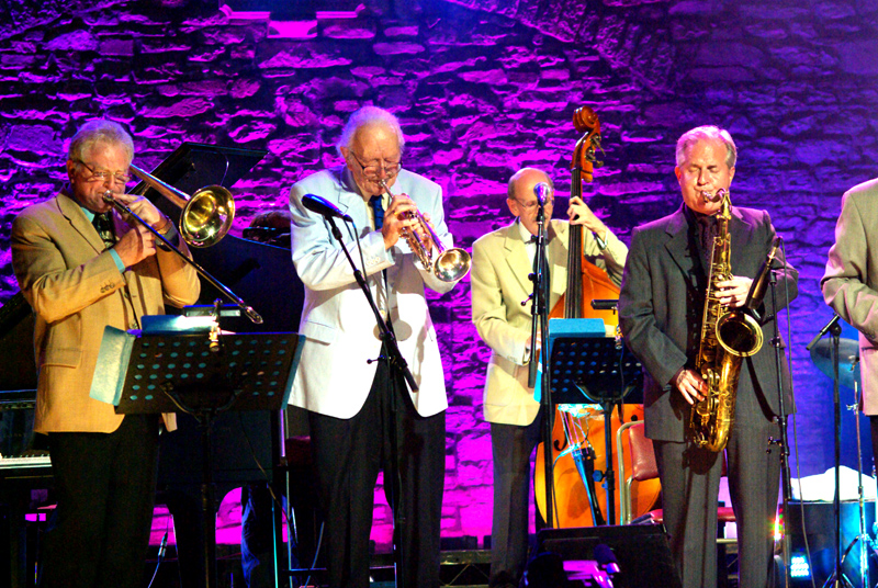Roy Williams Humphrey Lyttelton John Rees Jones Scott Hamilton Brecon Jazz Festival 2007
