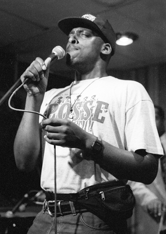 Cleveland Watkiss Tenor Clef  Hoxton Square London 1992