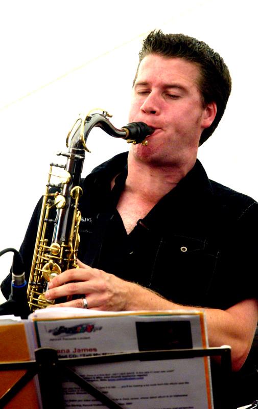 Simon Allen Brecon Jazz Festival 2008