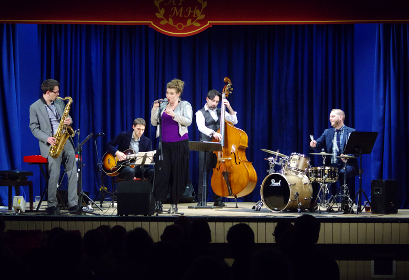 Polly Gibbons Ashtead Jazz Club 2018