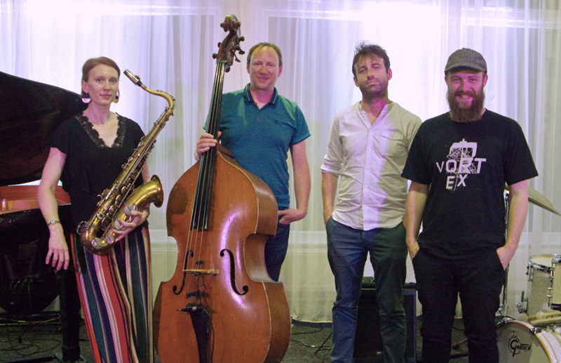 Josephine Davies Quartet  Watermill Jazz Club Dorking 7th August 2018