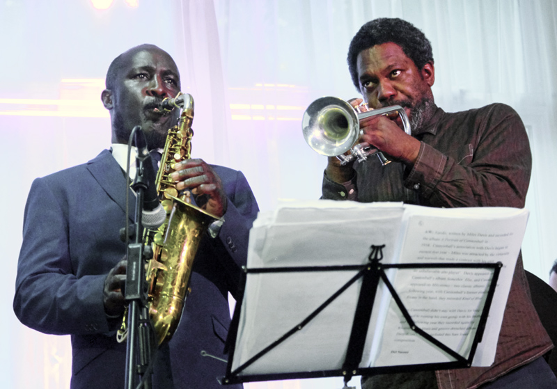 Tony Kofi and Byron Wallen Watermill Jazz Club Dorking 3rd July 2018