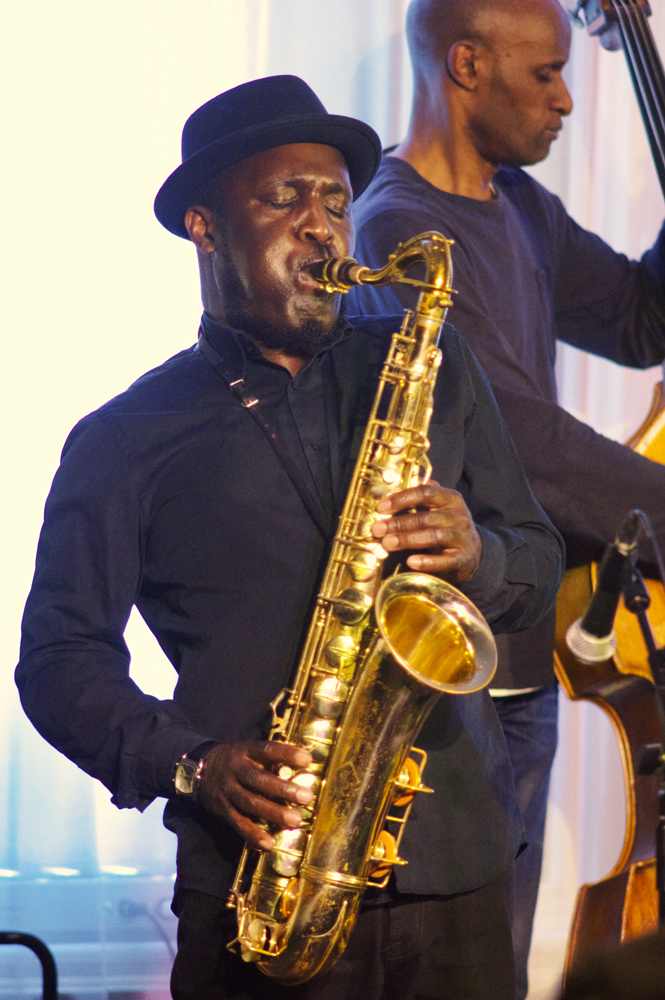 Tony Kofi  and Larry Bartley, Alina Bzhezhinska Quartet,