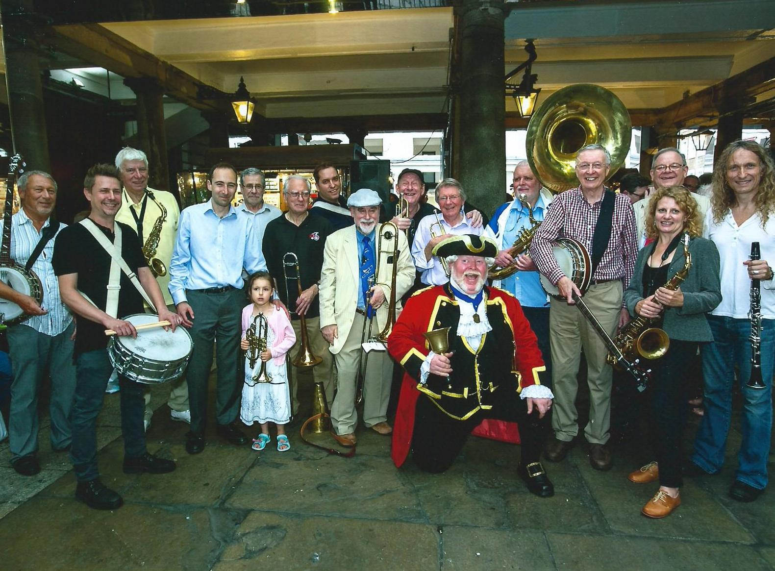 Covent Garden Marching Band June 2016