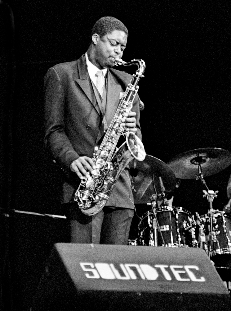 Courtney Pine, Fairfield Halls, Croydon, 1987