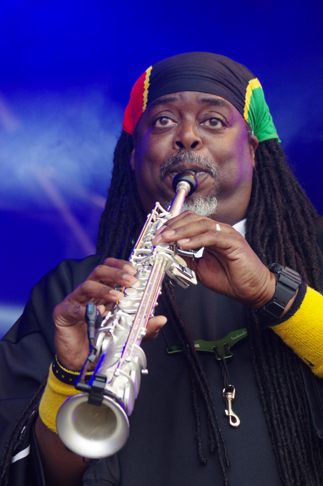 Courtney Pine, Love Supreme Jazz Festival, 2014