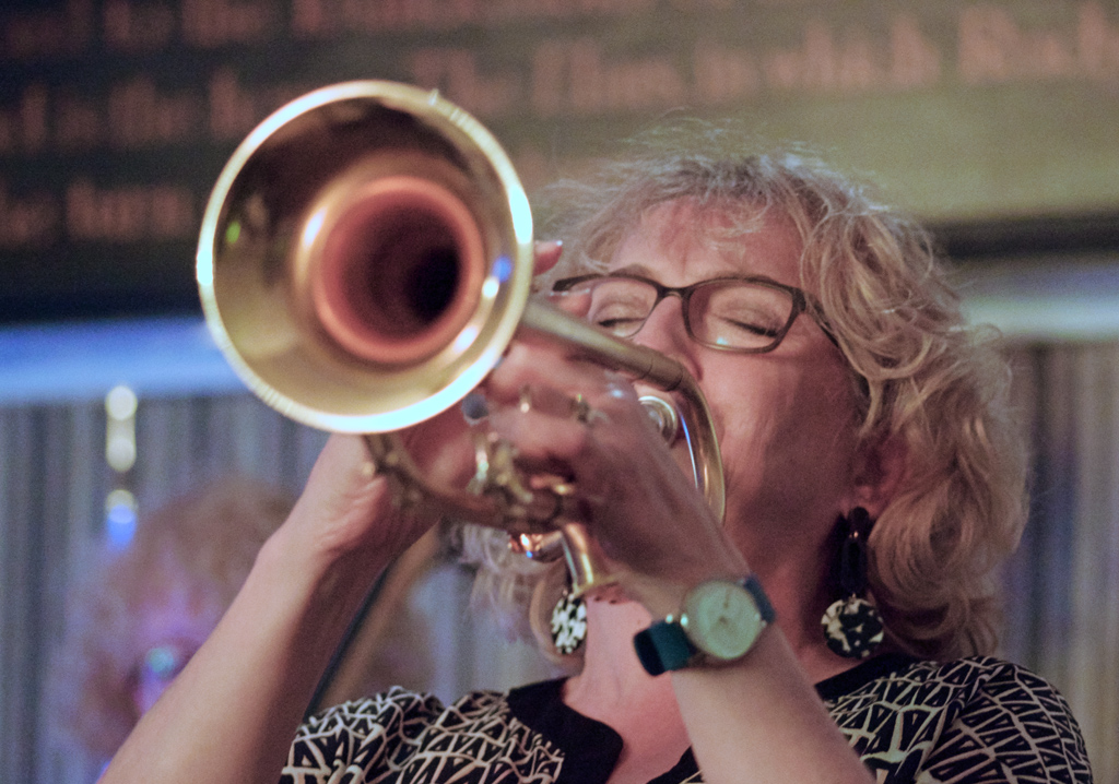 Sue Richardson, Splash Point, Jazz lub,. Plough Inn, Rottingdean 17.5.19.