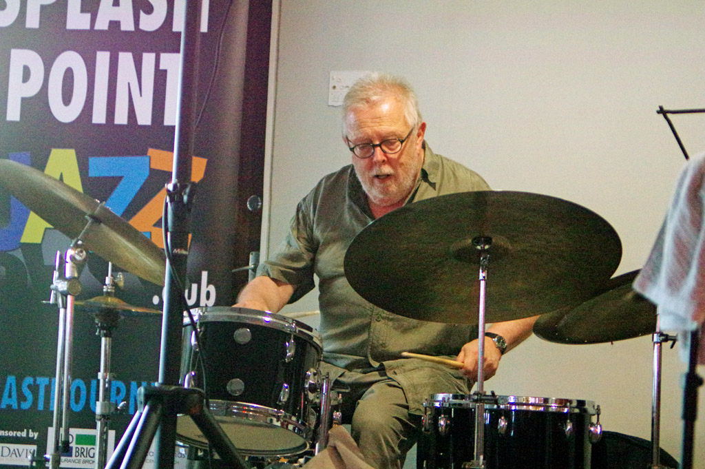 Spike Wells, Splash Point Jazz Club,  Eastbourne 24.7.19.