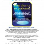 Your Chance To Perform - A Chance To Help Jazz Musicians And Promoters